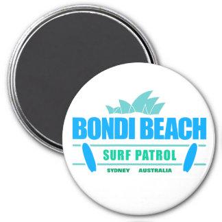 Bondi Beach Surf Patrol Sydney Australia 3 Inch Round Magnet