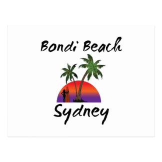 bondi beach sydney postcard