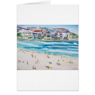 Beach Themed Bondi Blues Card
