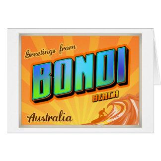 BONDI CARD