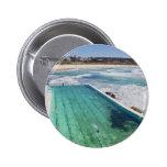 Bondi Icebergs 2 Inch Round Button