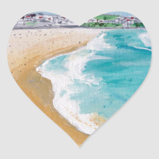 Bondi in Perspective Heart Sticker