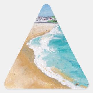 Bondi in Perspective Triangle Sticker
