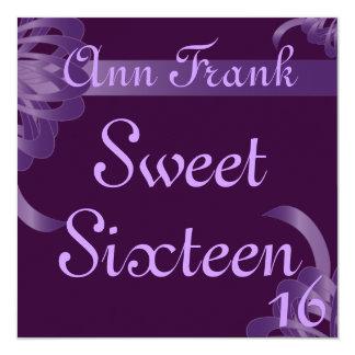 Bondings of Love Sweet Sixtee Invitation-Customize Card