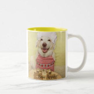 Bone Appetit! Two-Tone Coffee Mug