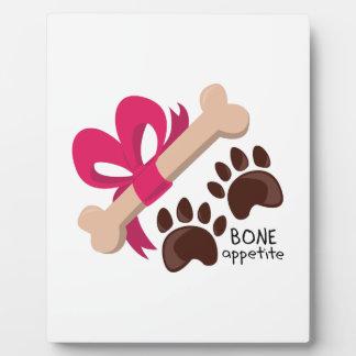 Bone Appetite Plaque