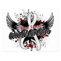 Bone Cancer Awareness 16 Postcard