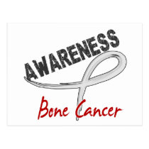 Bone Cancer Awareness 3 Postcard