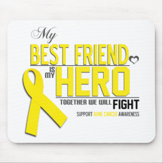 Bone Cancer Awareness: Best Friend Mousepad