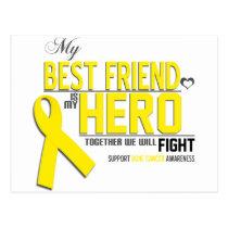 Bone Cancer Awareness: Best Friend Postcard