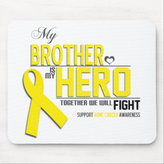 Bone Cancer Awareness:  brother Mousepads