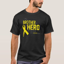 Bone Cancer Awareness:  brother T-Shirt