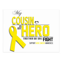 Bone Cancer Awareness: cousin Postcard