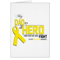 Bone Cancer Awareness: dad Card