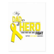 Bone Cancer Awareness: dad Postcard