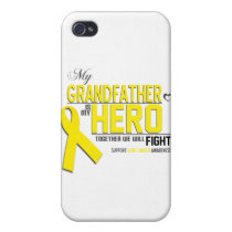 Bone Cancer Awareness: grandfather iPhone 4/4S Cover
