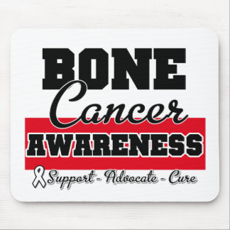 Bone Cancer Awareness Mouse Mat