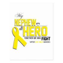 Bone Cancer Awareness: nephew Postcard
