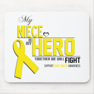 Bone Cancer Awareness: niece Mousepads