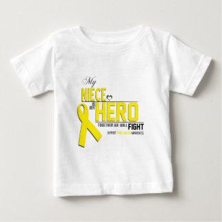 Bone Cancer Awareness: niece Infant T-shirt
