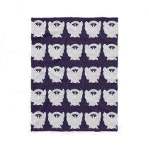 Bone Cancer Awareness Ribbon Fleece Chemo Blanket