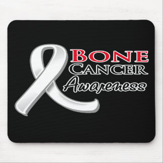 Bone Cancer Awareness Ribbon Mouse Pads