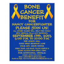 Bone Cancer Benefit Flyer