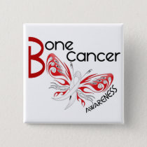 Bone Cancer BUTTERFLY 3 Awareness Pinback Button