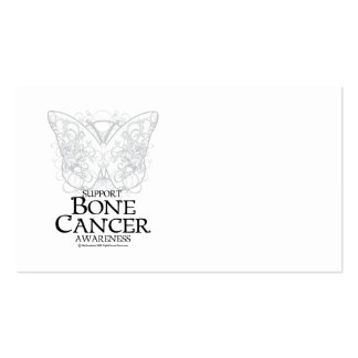 Bone Cancer Butterfly Business Card
