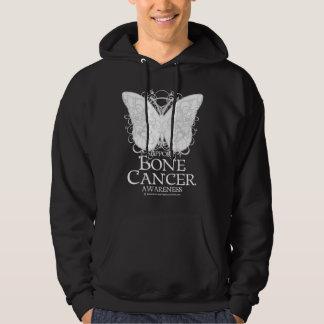 Bone Cancer Butterfly Hoodie