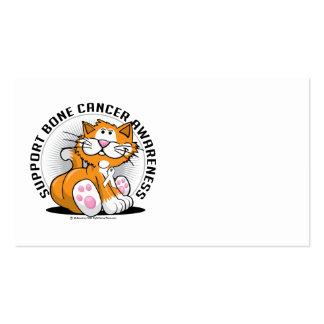 Bone Cancer Cat Business Card
