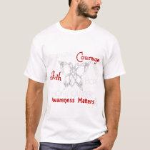 Bone Cancer Celtic Butterfly 3 T-Shirt