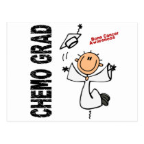 Bone Cancer CHEMO GRAD 1 Postcard