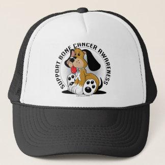 Bone Cancer Dog Trucker Hat
