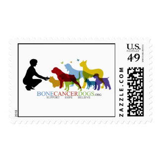 Bone Cancer Dogs Postage
