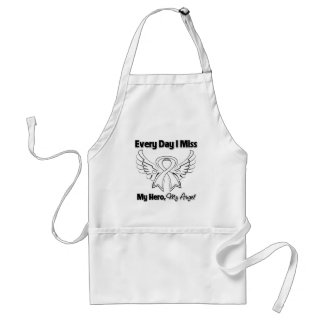 Bone Cancer Every Day I Miss My Hero Adult Apron