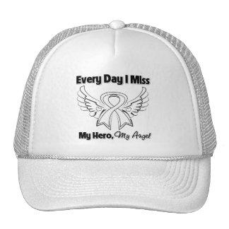 Bone Cancer Every Day I Miss My Hero Trucker Hat