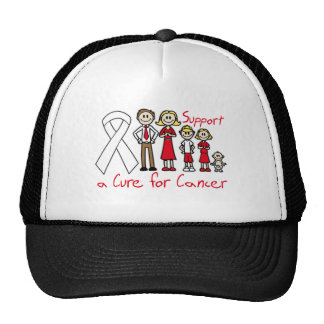 Bone Cancer Family Support A Cure Trucker Hat
