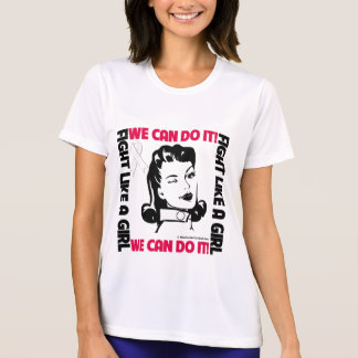 Bone Cancer - Fight Like A Girl - We Can Do It Tees