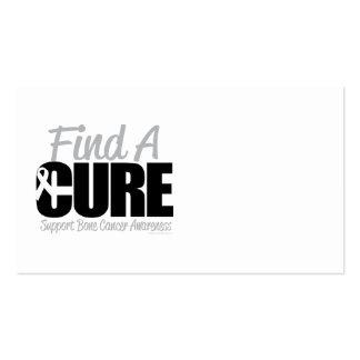 Bone Cancer Find A Cure Business Card