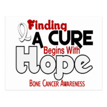 Bone Cancer HOPE 5 Postcard
