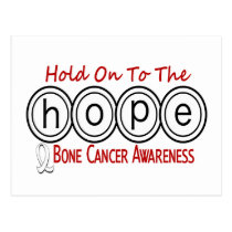 Bone Cancer HOPE 6 Postcard