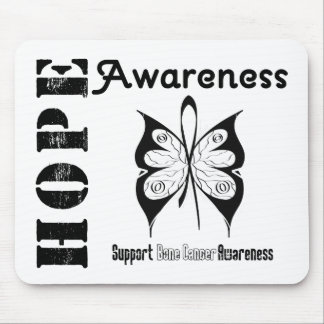 Bone Cancer Hope Awareness Mouse Pad