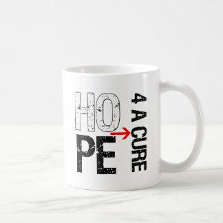 Bone Cancer Hope For a Cure Classic White Coffee Mug
