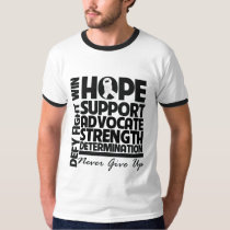 Bone Cancer Hope Support Advocate T-Shirt