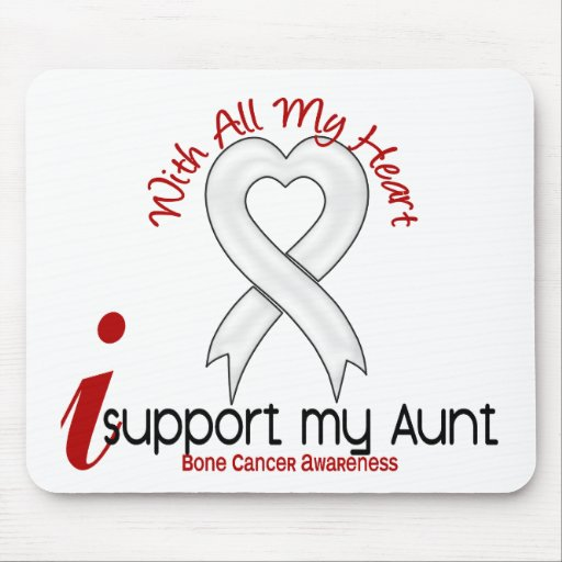 Bone Cancer I Support My Aunt Mouse Pads