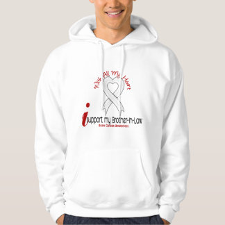 Bone Cancer I Support My Brother-In-Law Hoodie