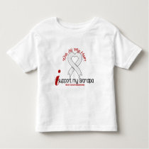 Bone Cancer I Support My Grandpa Toddler T-shirt
