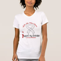 Bone Cancer I Support My Grandson T-Shirt