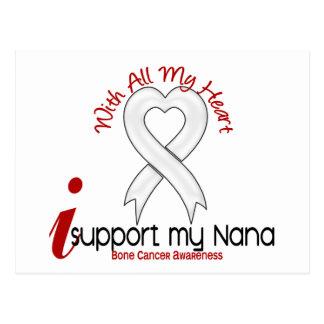Bone Cancer I Support My Nana Postcard
